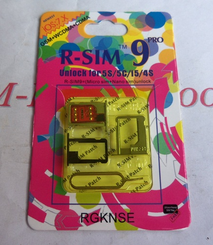 R-SIM 9 Unlock for 5S/5C/I5/4S